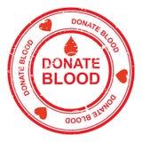 Doe o sangue ilustração stock