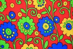 Doek met gedrukt patroon. Stock Foto