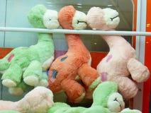 Doekstuk speelgoed dierlijke modellering, interessant en mooi royalty-vrije stock afbeeldingen