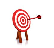Doel bullseye Royalty-vrije Stock Afbeelding