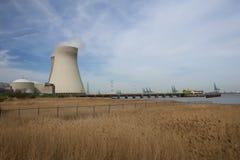 doel elektrownia nuklearna Zdjęcie Royalty Free