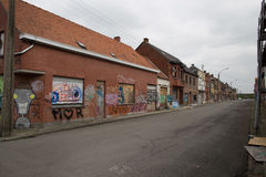 DOEL- MARCH 5: The ghost town of Doel. Stock Photos