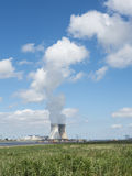 Doel nuclear power plant near river schelde north of antwerp Stock Photography