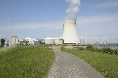 Doel Nuclear Power Station, East Flanders, Belgium Stock Photo