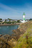 Doelan lighthouse Stock Photography