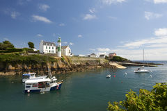 Doelan port le pouldu in brittany Stock Images
