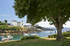 Doelan port le pouldu in brittany Royalty Free Stock Image