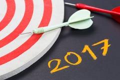2017 doelstellingen Stock Afbeeldingen