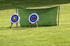 doelstellingen boogschieten spel Sport recreatie leisure Stock Afbeelding
