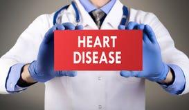 Doença cardíaca Fotografia de Stock