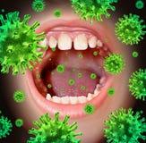 Doença contagioso Fotografia de Stock Royalty Free