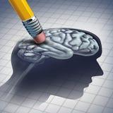 Doença da demência ilustração do vetor