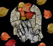 Doença de Alzheimer da depressão da demência Imagem de Stock