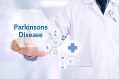 Doença de Parkinsons Foto de Stock