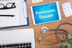 Doença de Parkinsons Foto de Stock Royalty Free