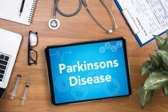 Doença de Parkinsons Fotografia de Stock