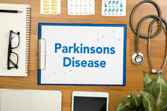 Doença de Parkinsons Fotos de Stock Royalty Free