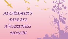 A doença maio do ` s de Alzheimer é mês da conscientização Imagem de Stock Royalty Free