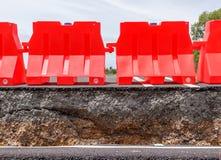Doen ineenstorten Asphalt Road Stock Afbeelding