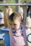 Doen schrikken baby Stock Afbeelding