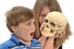Doen schrikken Kind royalty-vrije stock afbeeldingen