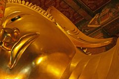 Doende leunen Boedha, Thailand Royalty-vrije Stock Afbeelding