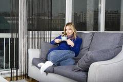 Doente em meu apartamento Foto de Stock Royalty Free
