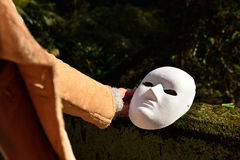 Does everyone here have a mask ?   of course Royalty Free Stock Photo