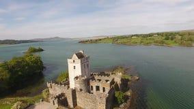 Doeslott Creeslough i ståndsmässiga Donegal Irland arkivfilmer