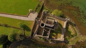 Doeslott Creeslough i ståndsmässiga Donegal Irland lager videofilmer