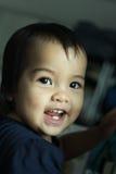 dof αγορακιών ρηχό χαμόγελο προσώπου Στοκ φωτογραφίες με δικαίωμα ελεύθερης χρήσης