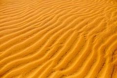 dof ανασκόπησης ρηχή σύσταση άμμου Σχέδιο των αμμόλοφων στην έρημο Deta φύσης Στοκ φωτογραφία με δικαίωμα ελεύθερης χρήσης
