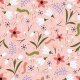 dof ανθών αζαλεών στενή ρηχή άνοιξη λουλουδιών επάνω διανυσματική απεικόνιση