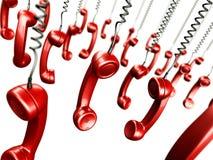 dof handsets сбор винограда телефонов Стоковое Фото