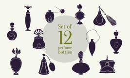 Doft ställde in XXXV royaltyfri illustrationer