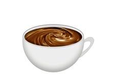 dofta kaffekopp stock illustrationer