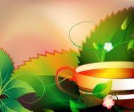dofta tea royaltyfri illustrationer