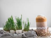 Doftande muffin easter förbereda sig royaltyfri fotografi