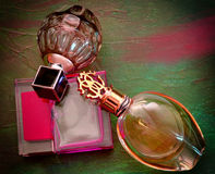 Doftflaskor Arkivfoton