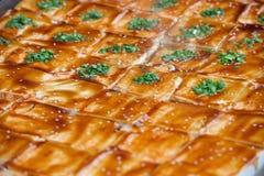 Dofu soybeen street food Royalty Free Stock Photo
