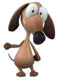 Dog. Fun dog, 3d generated picture Stock Photo