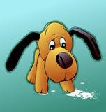 Dog. Vector of Cartoon dog, toys Stock Photos
