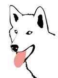 Dog. Inuit Eskimo Dog Stock Illustration