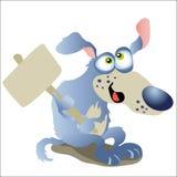 Dog. Chinese zodiac - illustration of chinese traditional birthday animal Royalty Free Stock Photo
