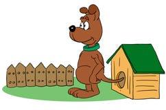 Dog. Standing dog vector illustration