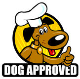 Dog Approved Seal Stock Images