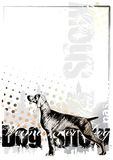 Dog background 1 Royalty Free Stock Image