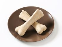 Dog biscuit bones Stock Photography