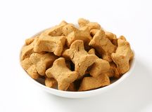 Dog biscuit bones Royalty Free Stock Image
