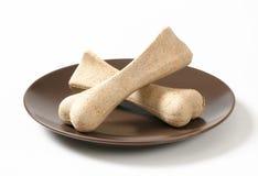 Dog biscuit bones Royalty Free Stock Photos